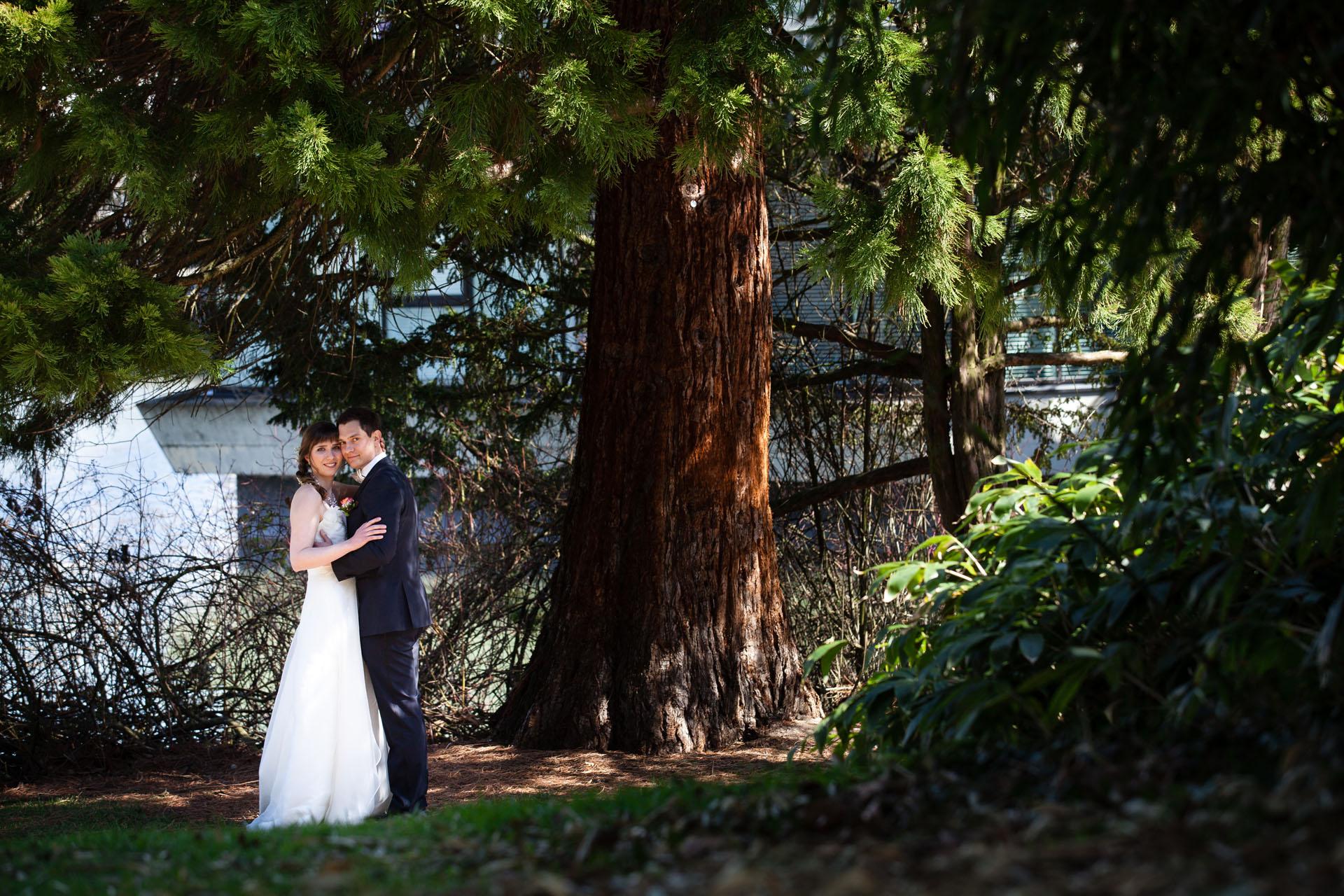 Hochzeitsfotografie in Böblingen im Stadtpark